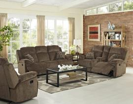 Ryder Collection U4244-KKC Reclining Sofa & Console Loveseat Set