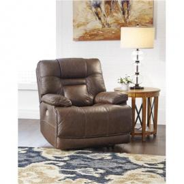 Wurstrow Umber by Ashley U5460313 Power Recliner w/ Adjustable Headrest
