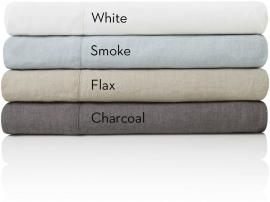 French Linen - Cal King Sheets Charcoal